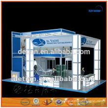 decent exhibition booth two storey from shanghai,china